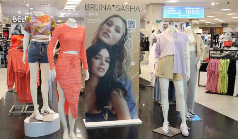 C&A apresenta nova collab BFF – Bruna e Sasha