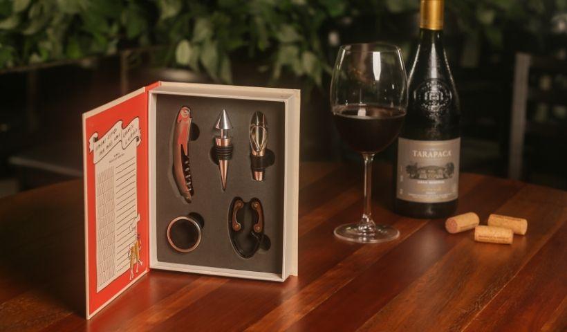 Aromas e Vinhos: aproveite para escolher os acessórios