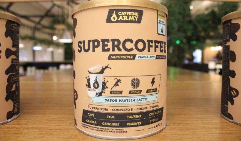 SuperCoffee no GreenMix: pré-treino à base de café