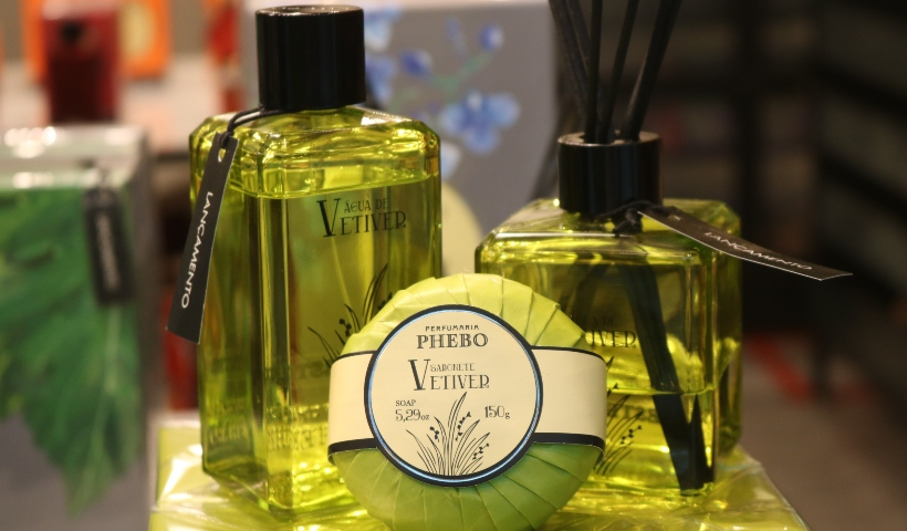 Phebo: conheça a nova fragrância Água de Vetiver
