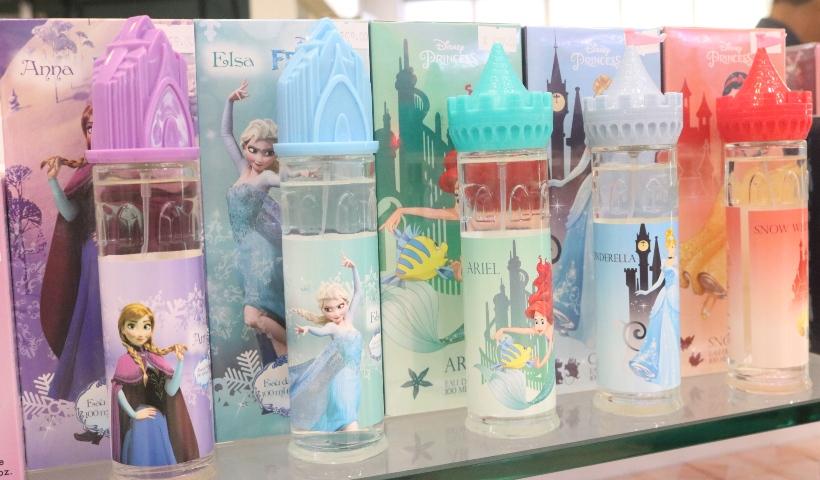 Princesas da Disney inspiram fragrâncias infantis