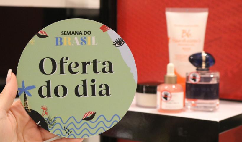 Sephora destaca 15% off em itens de beleza selecionados