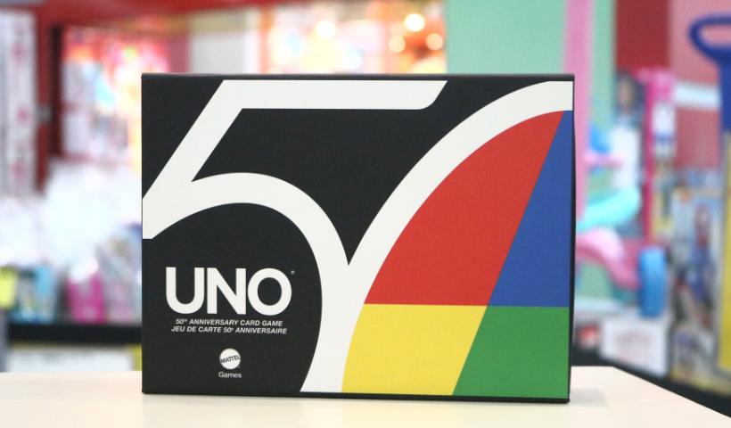 "Edição Premium ""UNO 50 anos"" chega na Ri Happy"