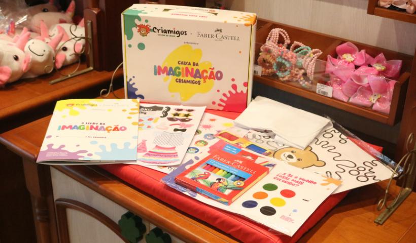 Criamigos + Faber-Castell = diversão certa no Dia das Crianças