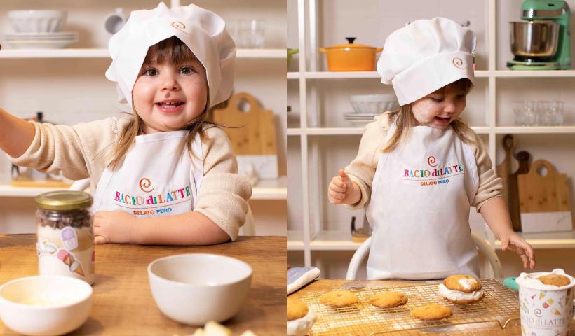 Dia das Crianças: conheça o Kit Mini Chef da Bacio di Latte