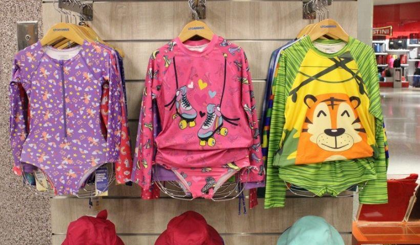 Verão Litoraneus: moda com proteção para as crianças