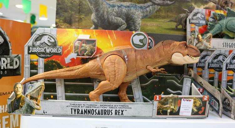 1e2f565d9 Além do cinema: dinossauros invadem as lojas de brinquedos | RioMar ...